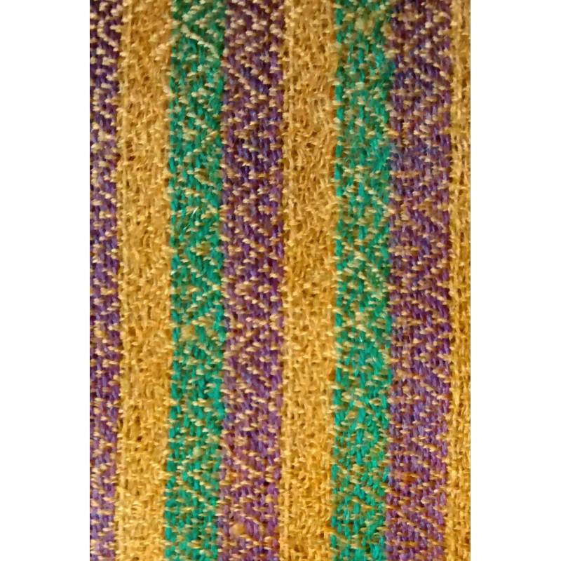 écharpe cachemire multicolore