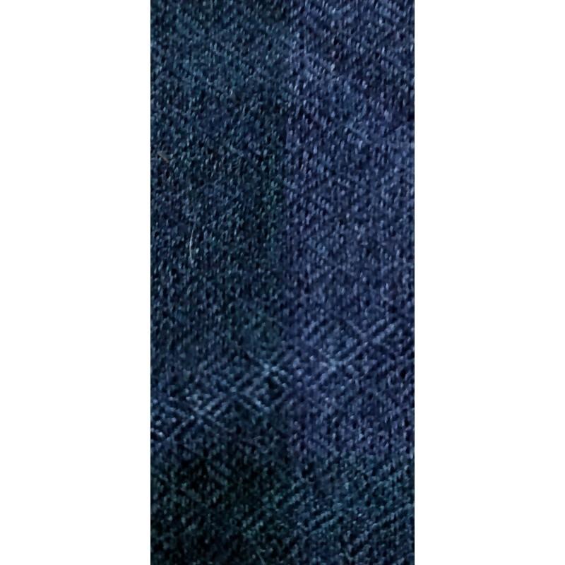 écharpe cachemire bleu