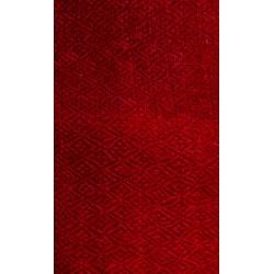 écharpe cachemire rouge