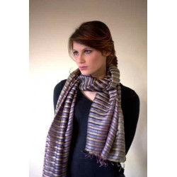Foulard double-voile